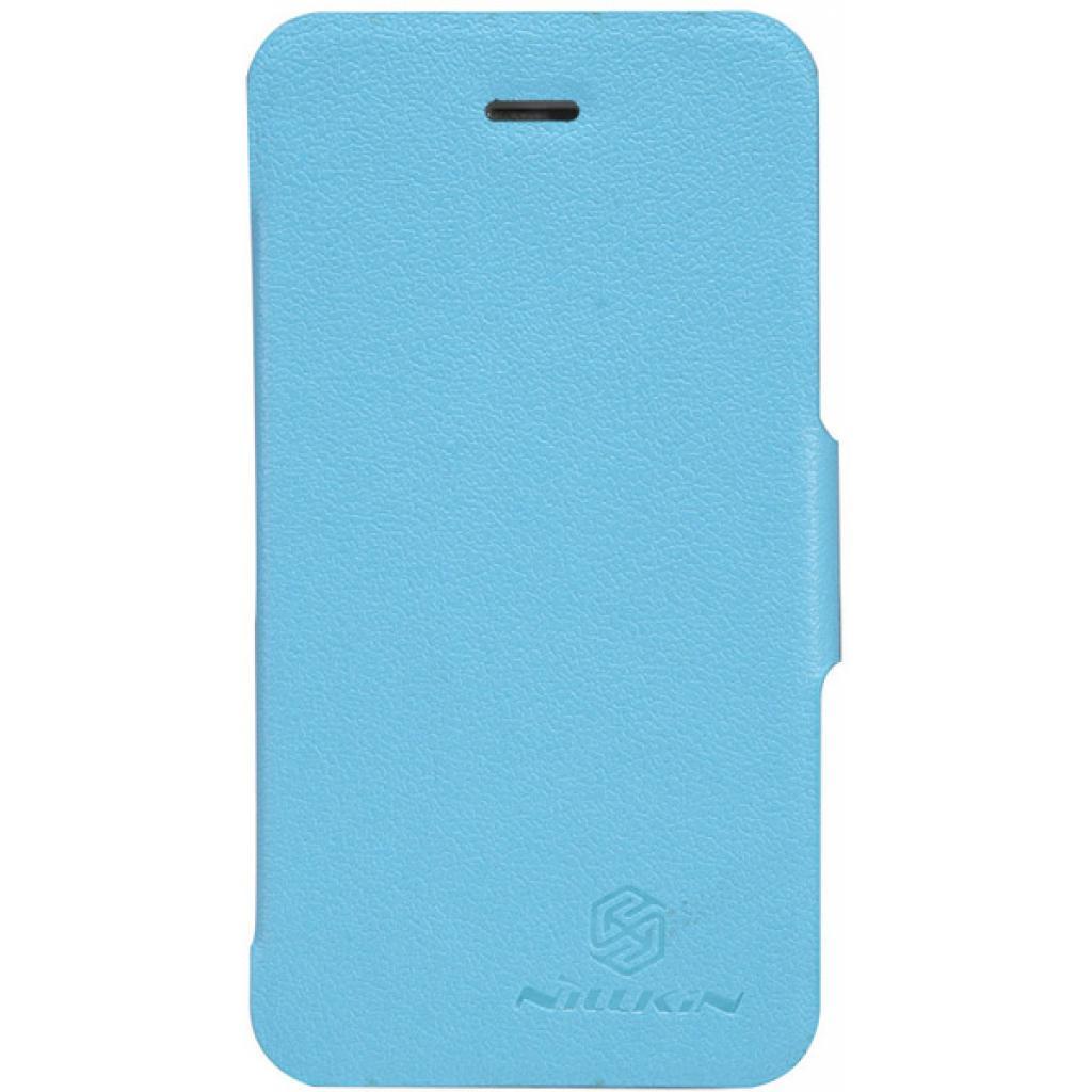 Чехол для моб. телефона NILLKIN для iPhone 4S /Fresh/ Leather/Blue (6065676)