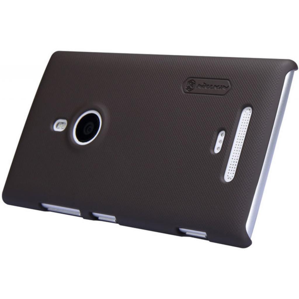 Чехол для моб. телефона NILLKIN для Nokia 925 /Super Frosted Shield/Brown (6088759) изображение 2