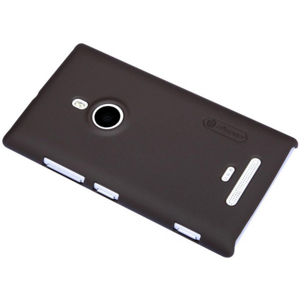 Чехол для моб. телефона NILLKIN для Nokia 925 /Super Frosted Shield/Brown (6088759) изображение 3