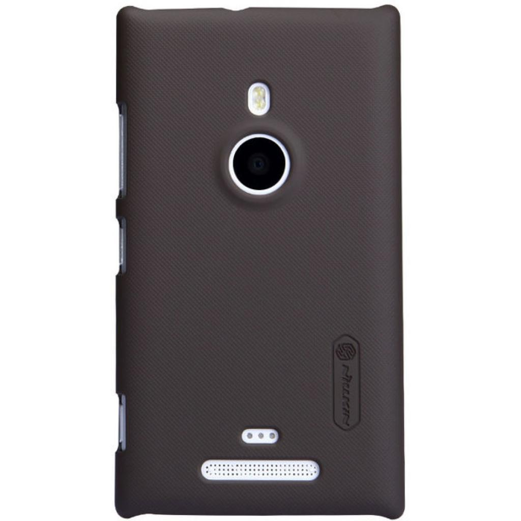 Чехол для моб. телефона NILLKIN для Nokia 925 /Super Frosted Shield/Brown (6088759)
