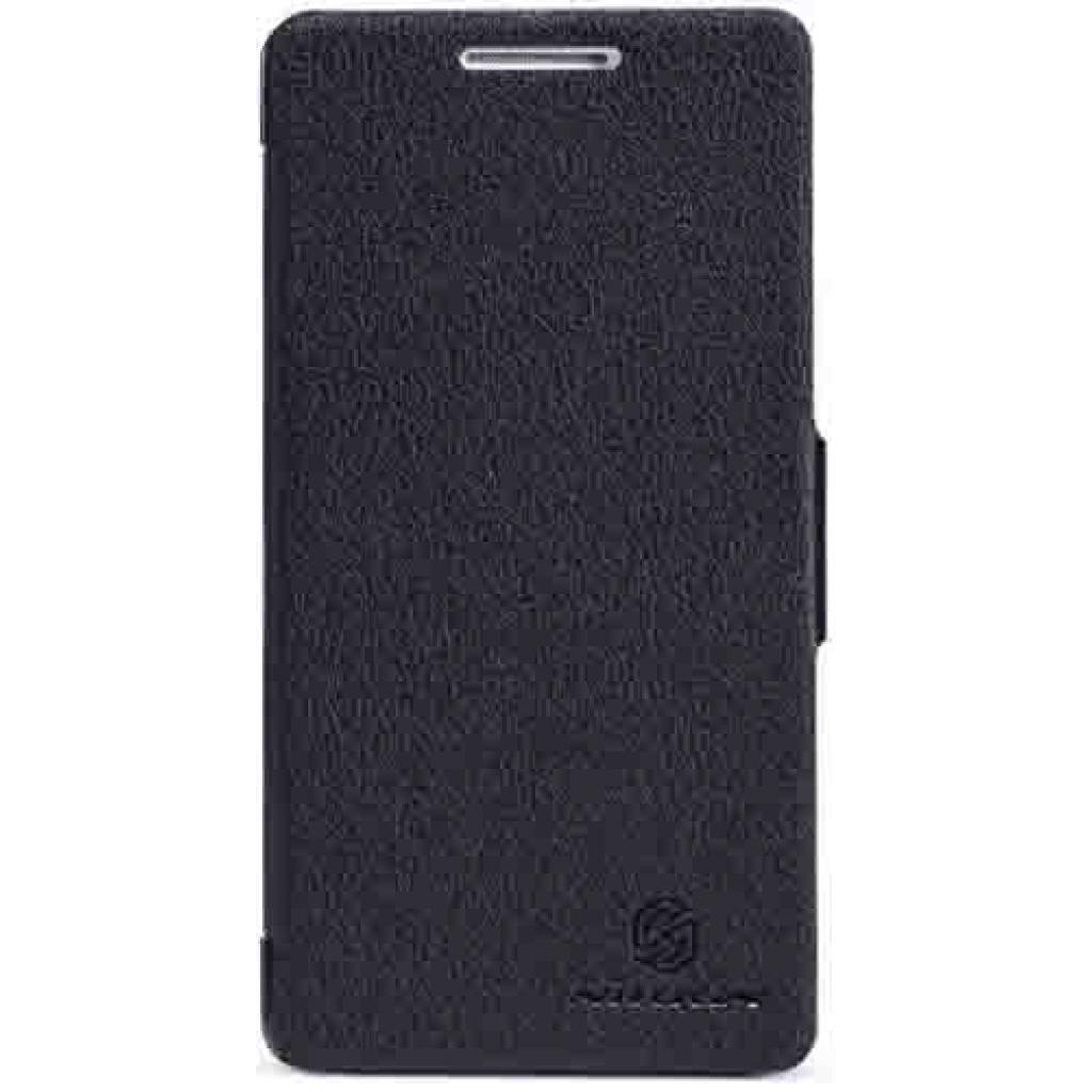 Чехол для моб. телефона NILLKIN для Huawei Honor III/Fresh/ Leather/Black (6103985)