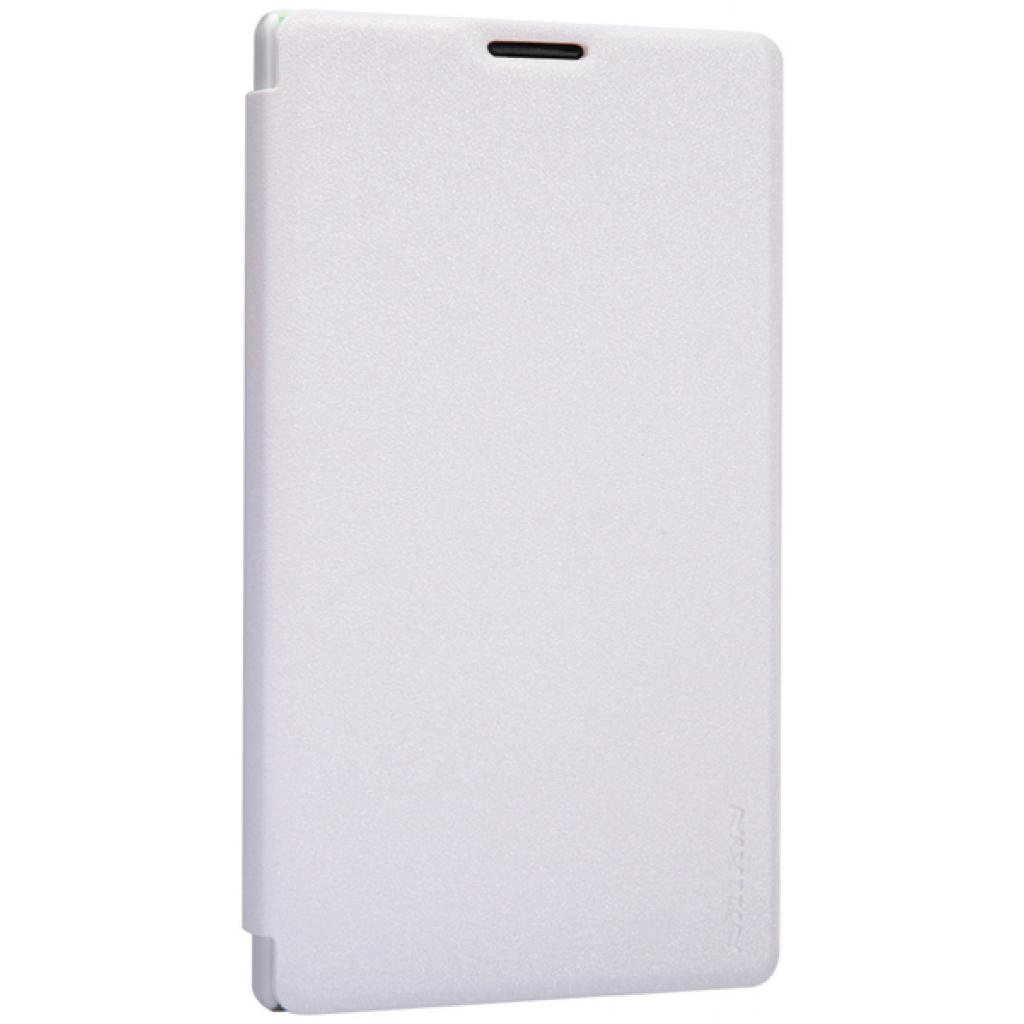 Чехол для моб. телефона NILLKIN для Nokia XL /Spark/ Leather/White (6164354) изображение 3