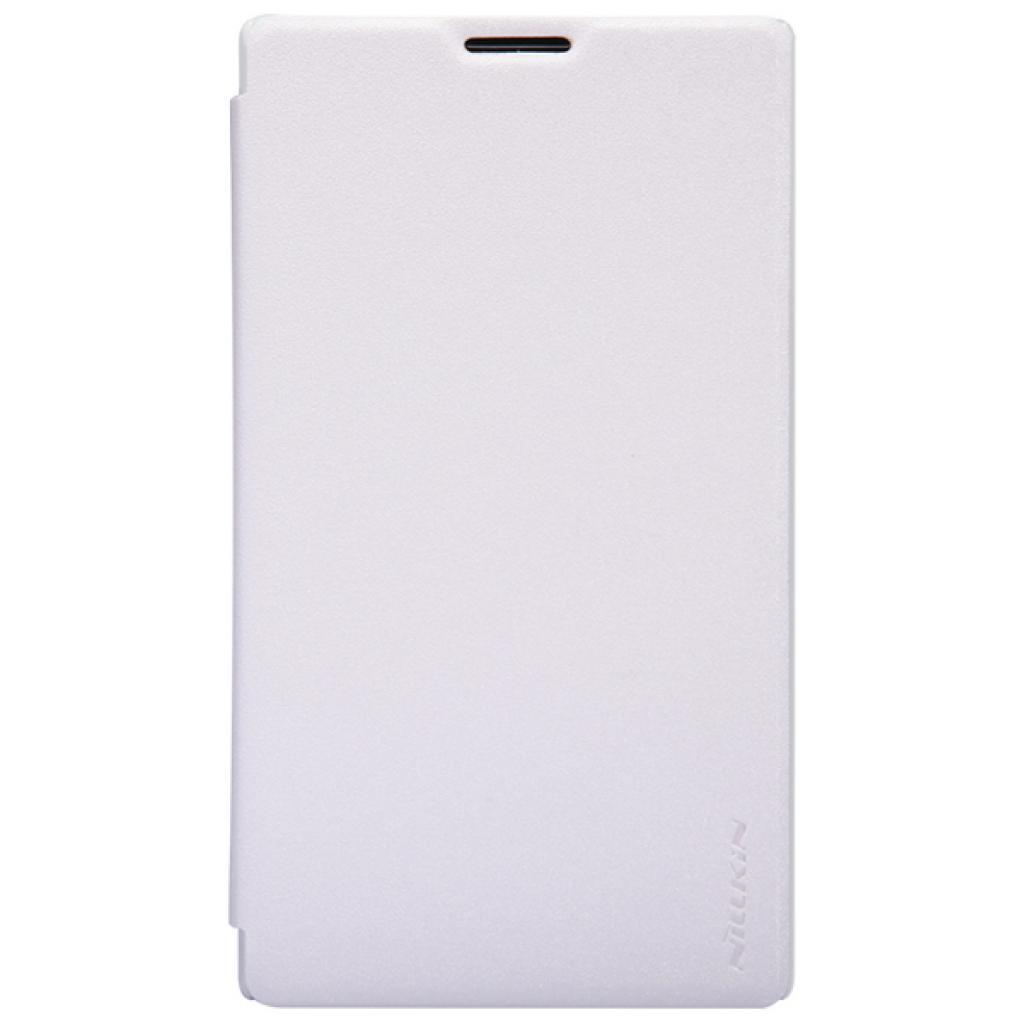 Чехол для моб. телефона NILLKIN для Nokia XL /Spark/ Leather/White (6164354)