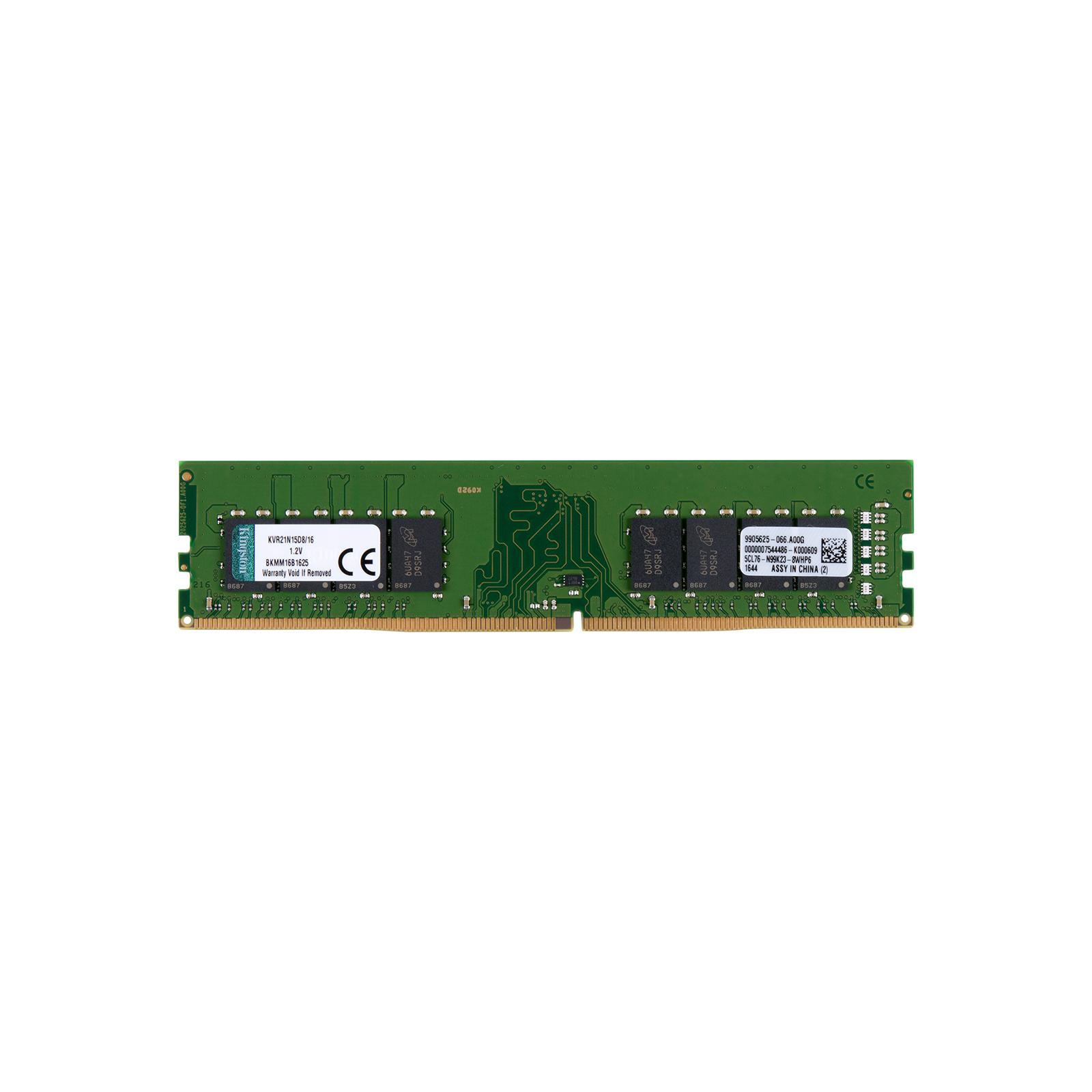Модуль памяти для компьютера DDR4 16GB 2133 MHz Kingston (KVR21N15D8/16)