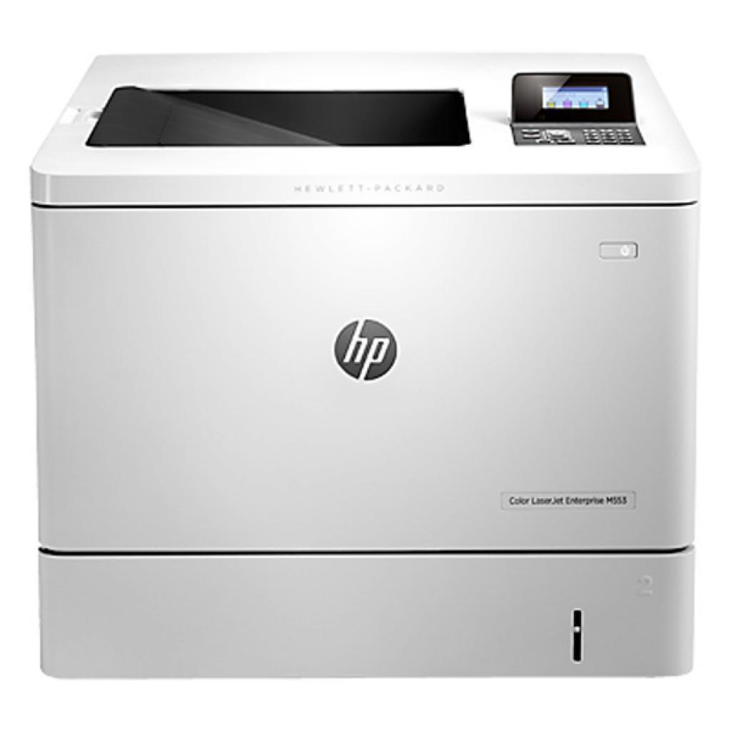 Лазерный принтер HP Color LaserJet Enterprise M553n (B5L24A) изображение 2