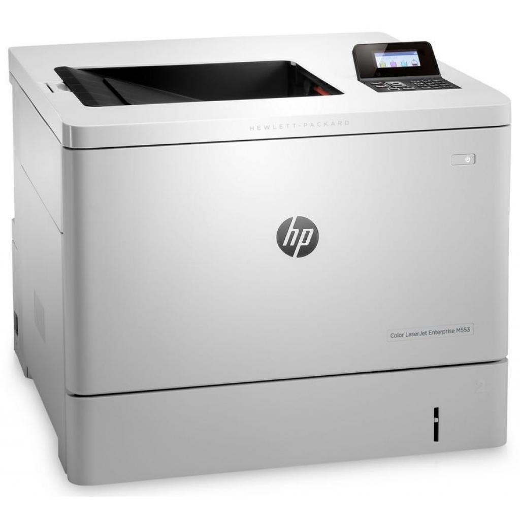 Лазерный принтер HP Color LaserJet Enterprise M553n (B5L24A) изображение 3