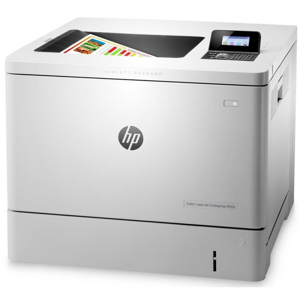 Лазерный принтер HP Color LaserJet Enterprise M553n (B5L24A)