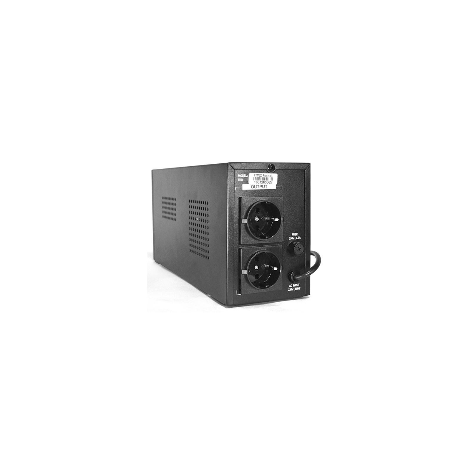Источник бесперебойного питания Ritar RTM800 (480W) Proxima-L (RTM800L) изображение 2