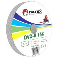 Диск DVD-R DATEX 4.7Gb 16x BULK 10 pcs (5949273)