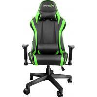Кресло игровое Raidmax Black/Green (DK706GN)