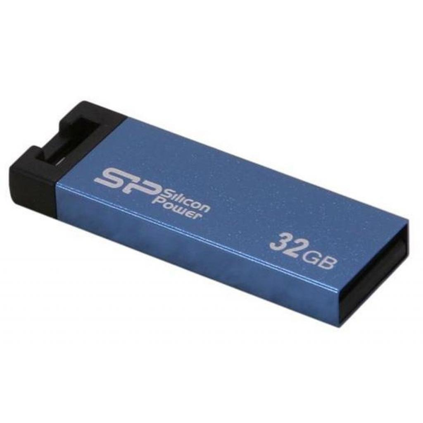 USB флеш накопитель Silicon Power 32GB 835 Blue USB 2.0 (SP032GBUF2835V1B) изображение 2
