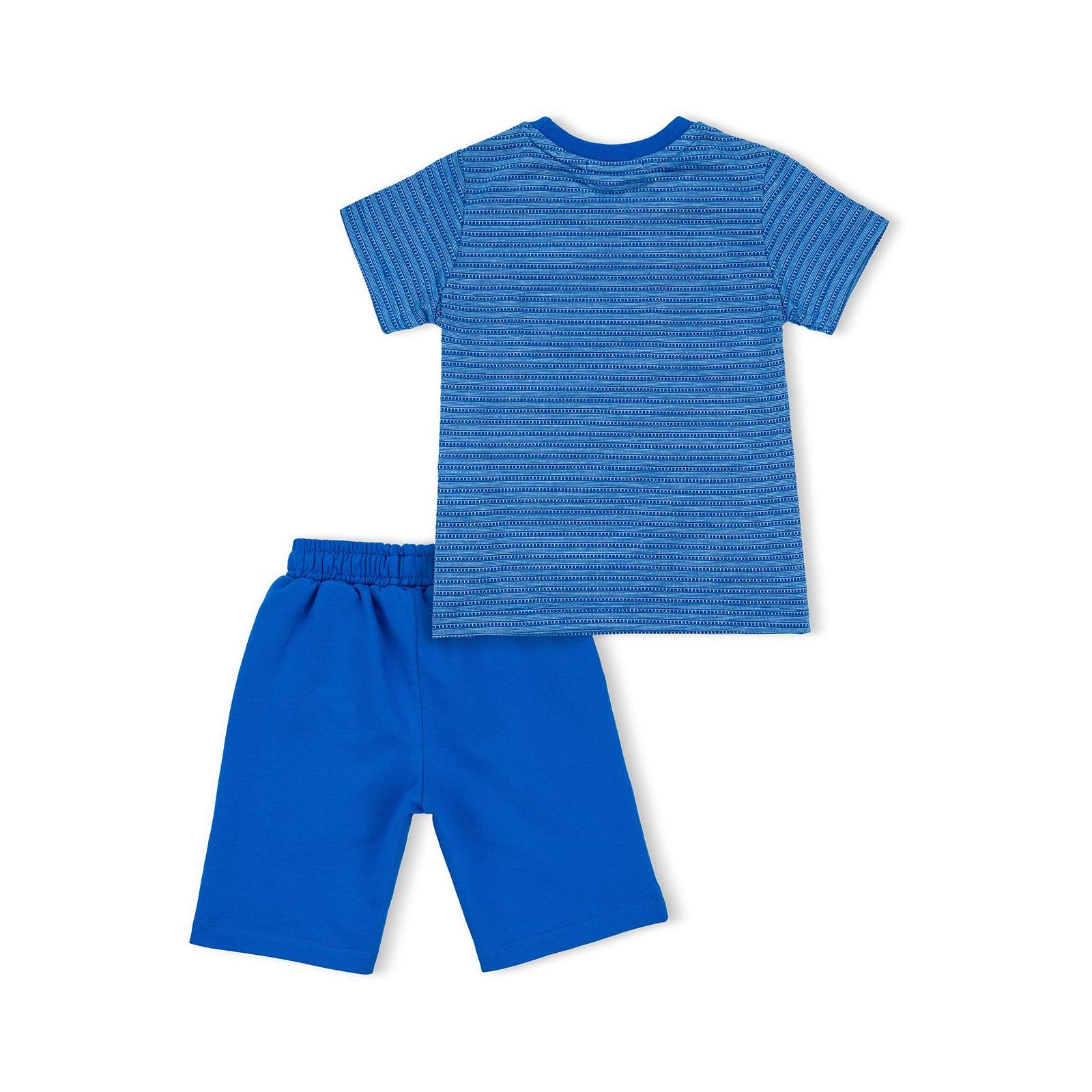 """Футболка детская Breeze с шортами """"AUTHENTIC"""" (10583-92B-blue) изображение 4"""