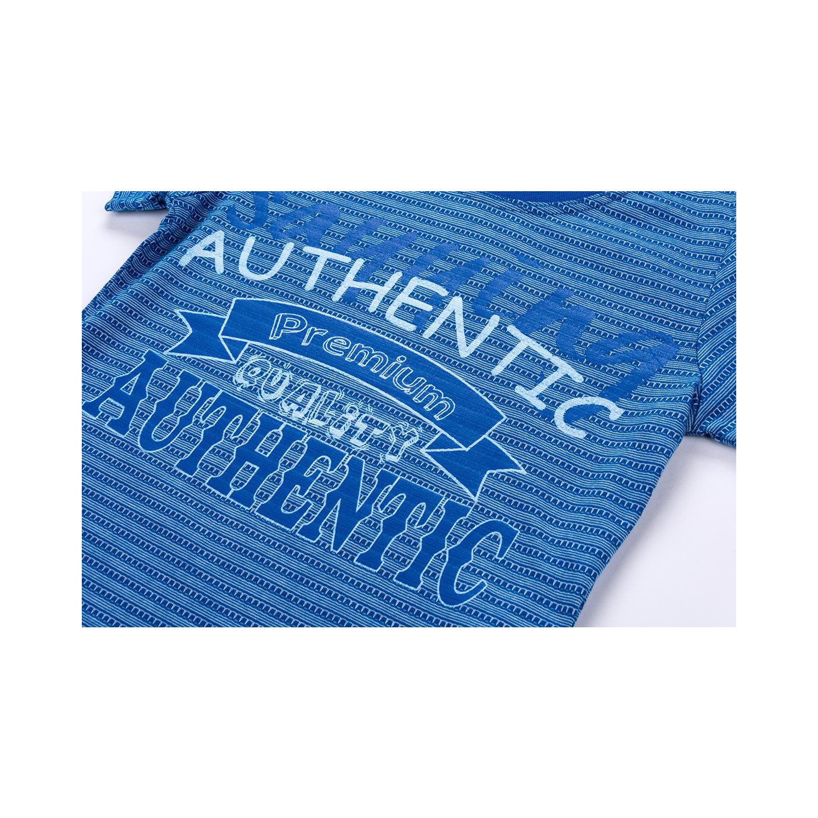 """Футболка детская Breeze с шортами """"AUTHENTIC"""" (10583-92B-blue) изображение 9"""