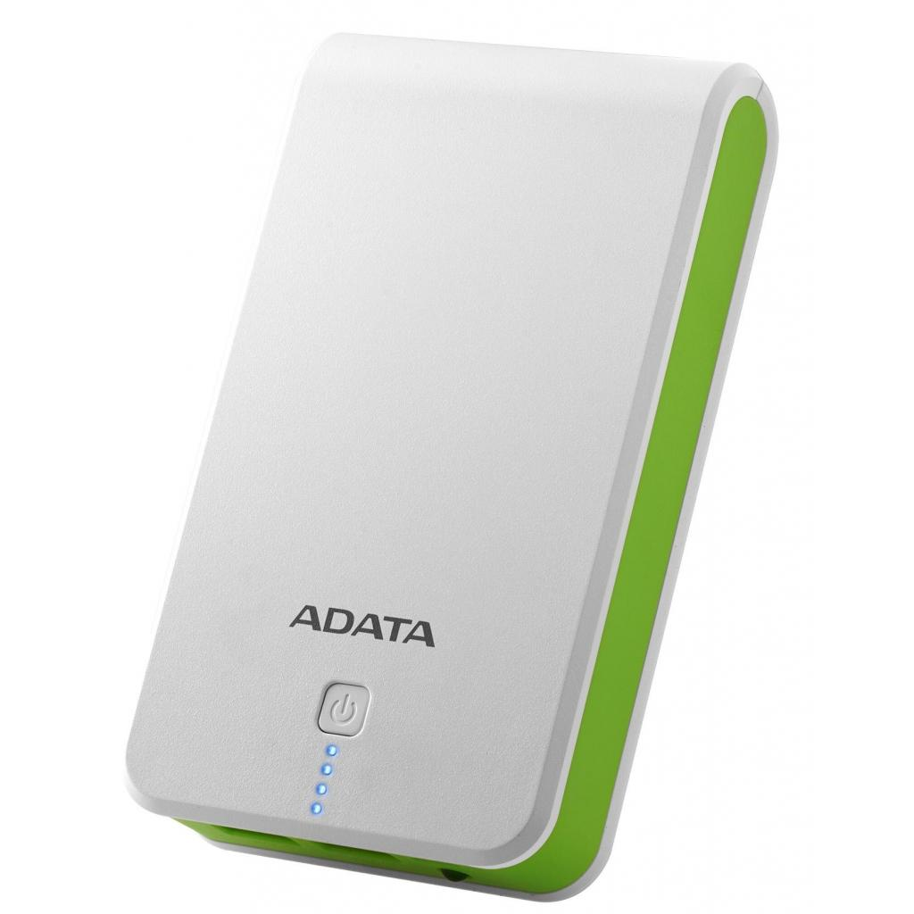 Батарея универсальная ADATA P16750 16750mAh White-Green (AP16750-5V-CWHGN)