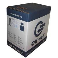 Кабель мережевий OK-Net UTP 305м cat.5e (КПВ-ВП (350) 4*2*0,50)