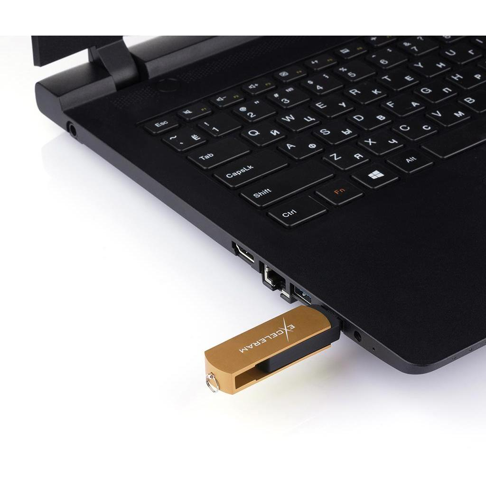 USB флеш накопитель eXceleram 64GB P2 Series Red/Black USB 2.0 (EXP2U2REB64) изображение 7