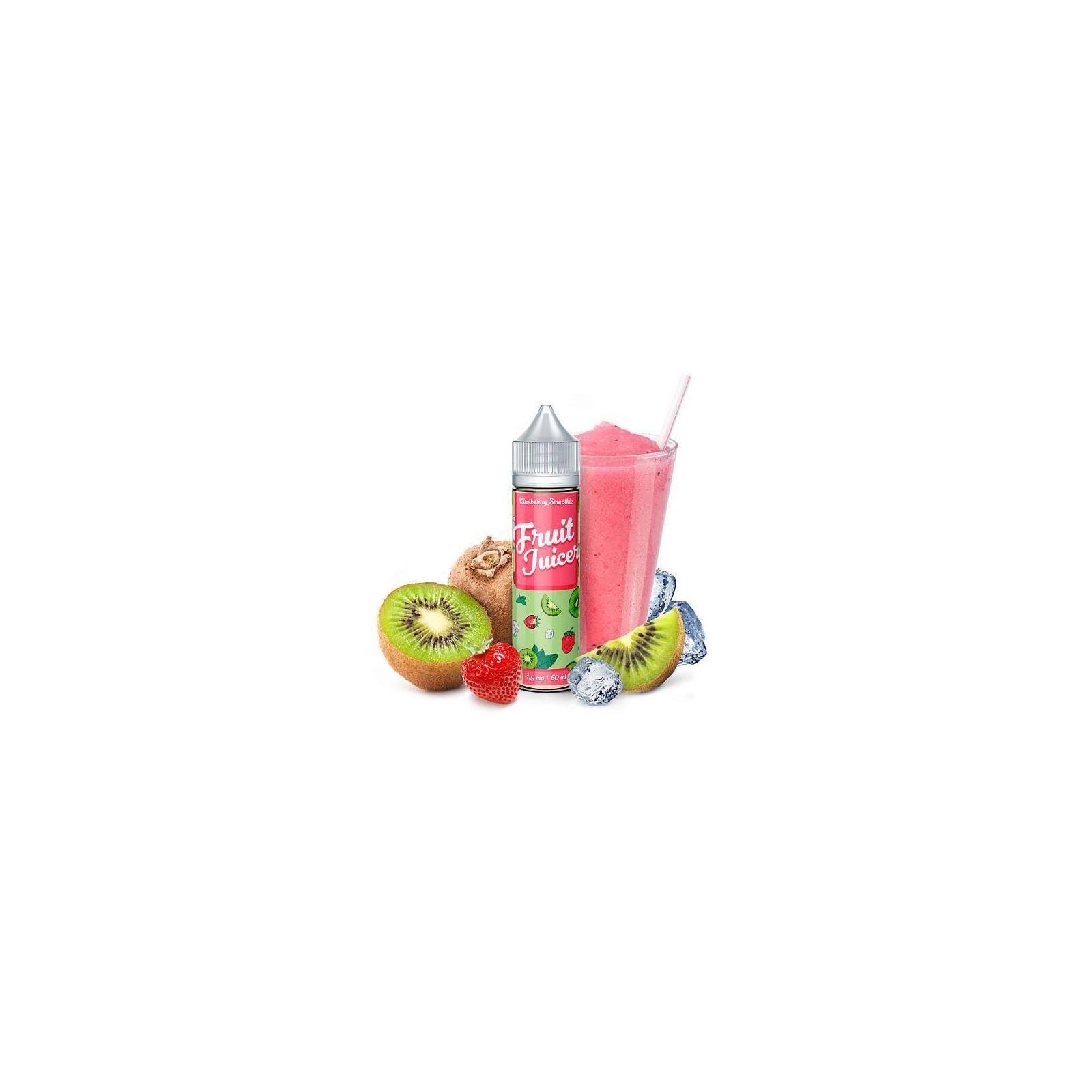 """Жидкость для электронных сигарет Fruit Juicer """"Kiwiberry Smoothie"""" 60 ml 1.5 mg/ml (FJ-KB-1)"""