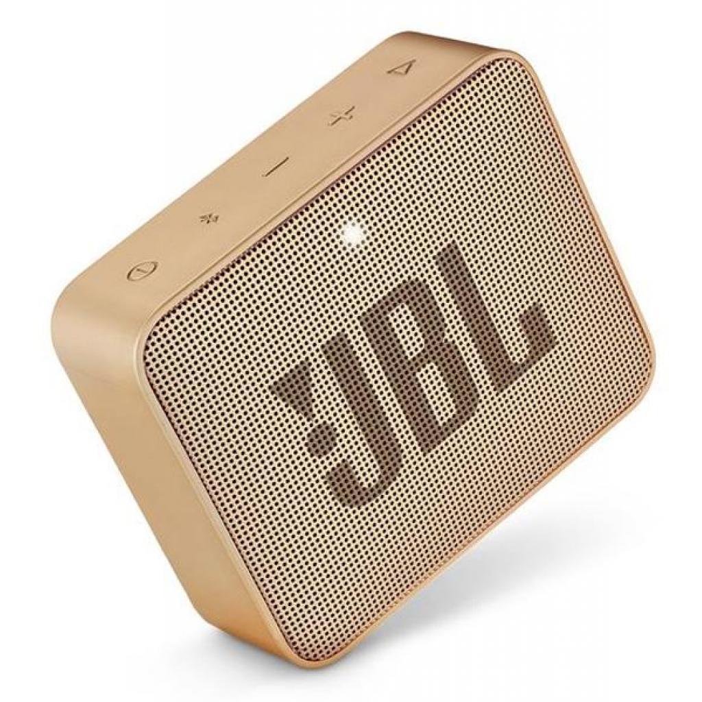 Акустическая система JBL GO 2 Champagne (JBLGO2CHAMPAGNE) изображение 5