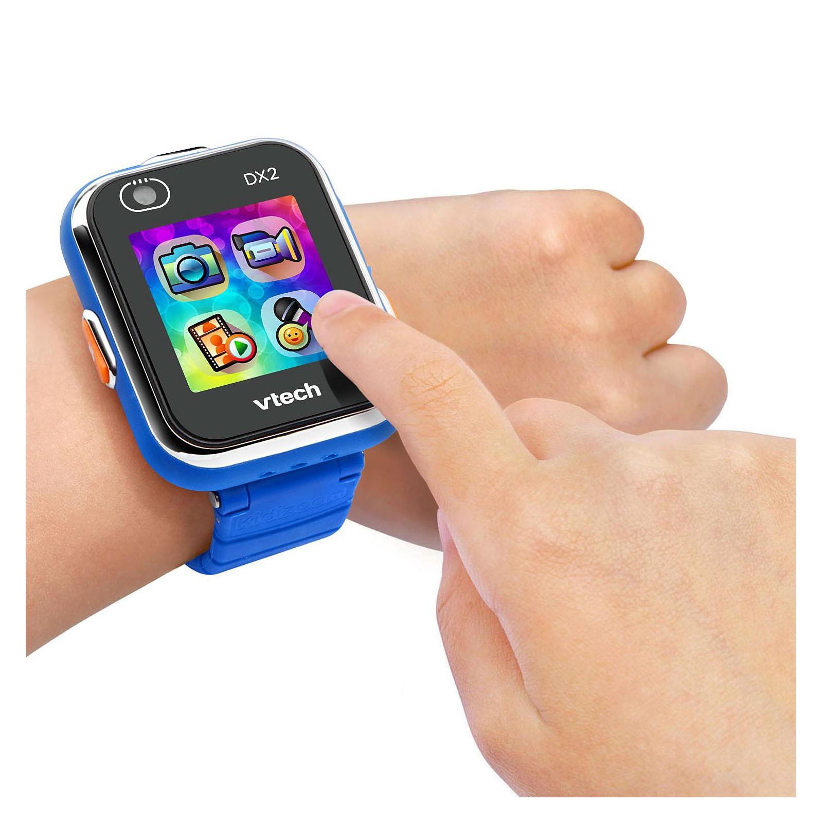 Интерактивная игрушка VTech Детские смарт-часы Kidizoom Smart Watch Dx2 Blue (80-193803) изображение 4