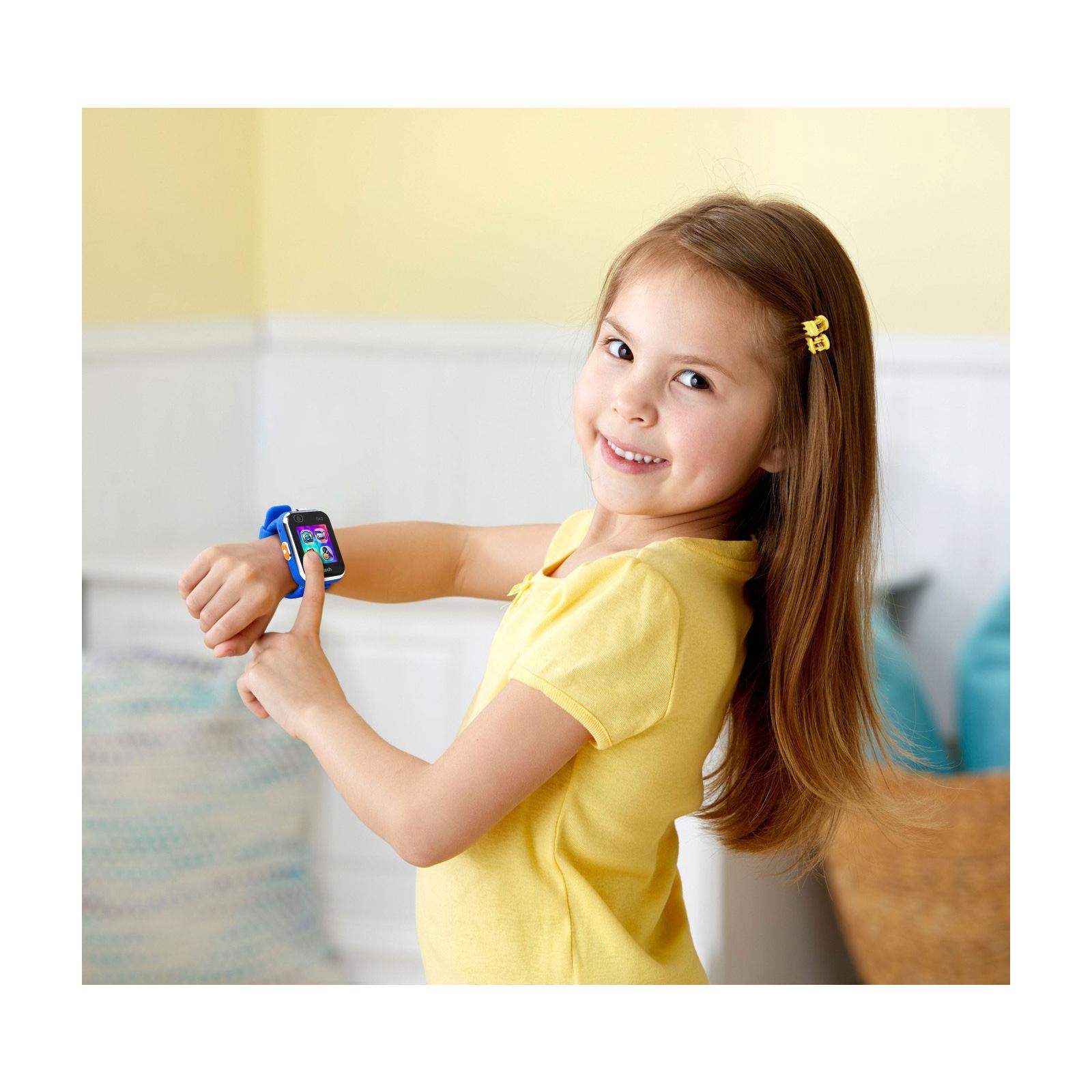 Интерактивная игрушка VTech Детские смарт-часы Kidizoom Smart Watch Dx2 Blue (80-193803) изображение 6