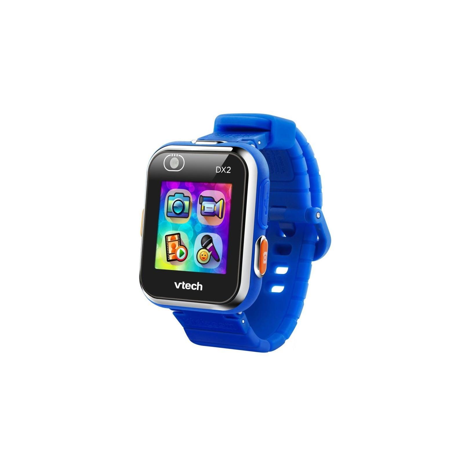 Интерактивная игрушка VTech Детские смарт-часы Kidizoom Smart Watch Dx2 Blue (80-193803)