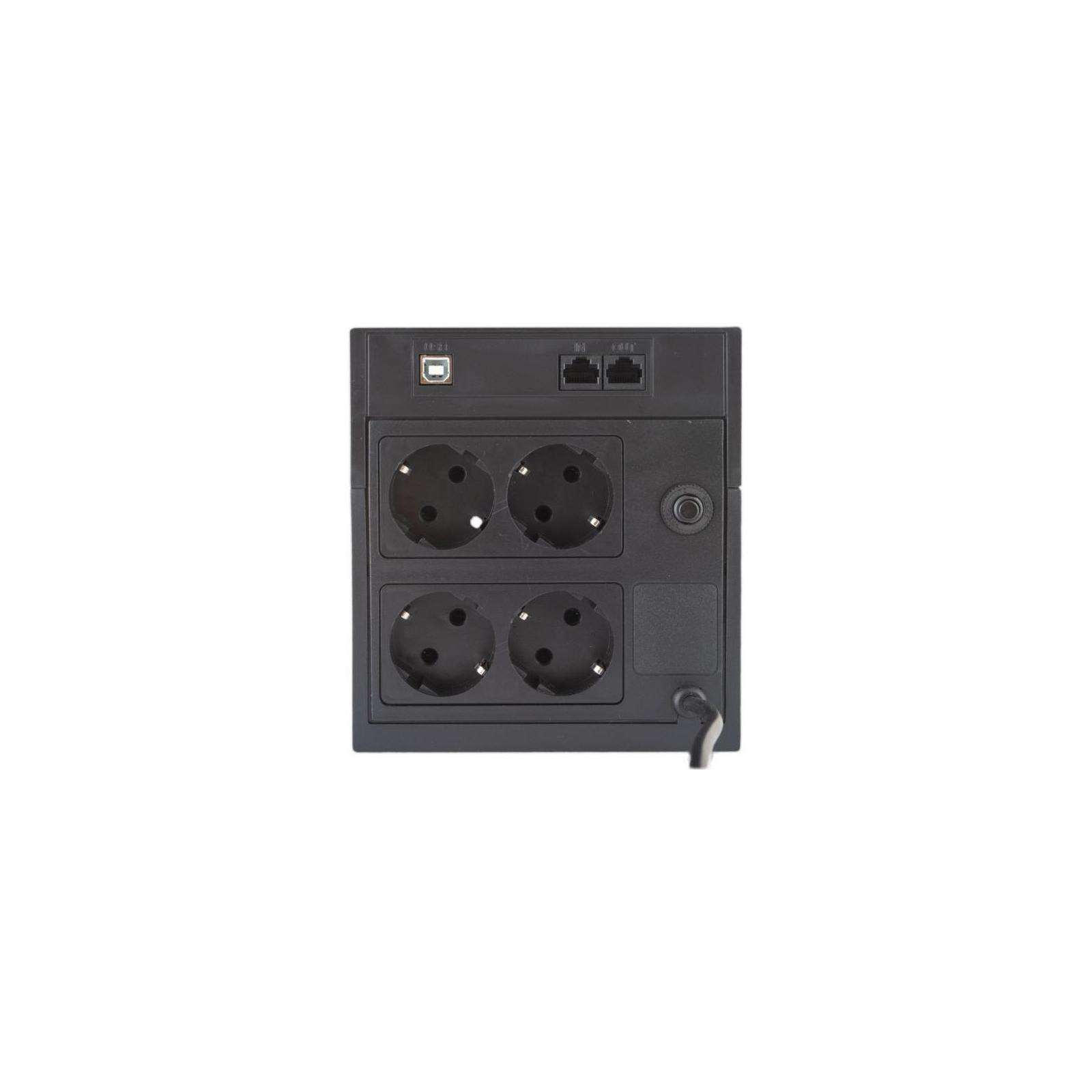 Источник бесперебойного питания Powercom RPT-1500AP LCD SCHUKO изображение 3