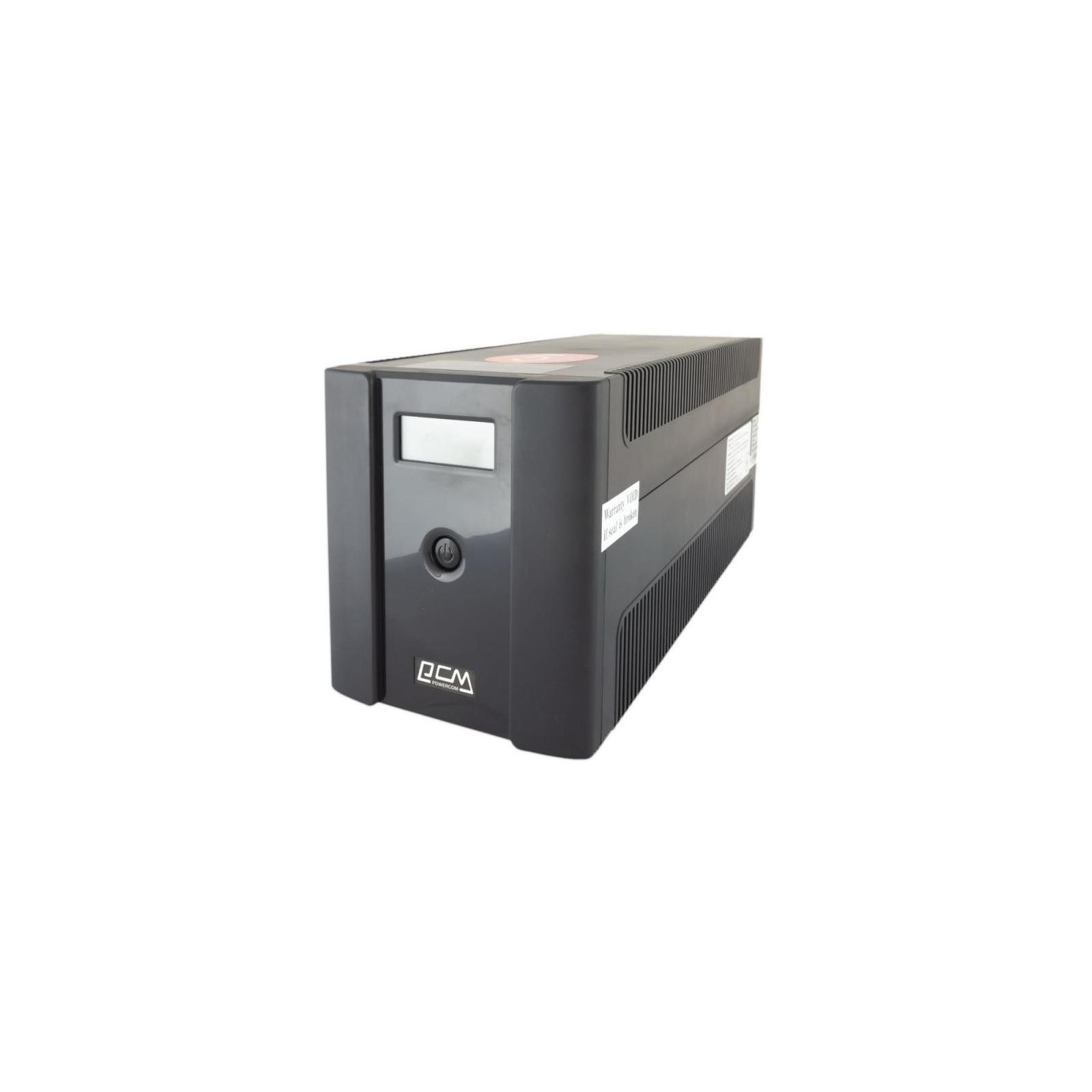 Источник бесперебойного питания Powercom RPT-1500AP LCD SCHUKO изображение 4