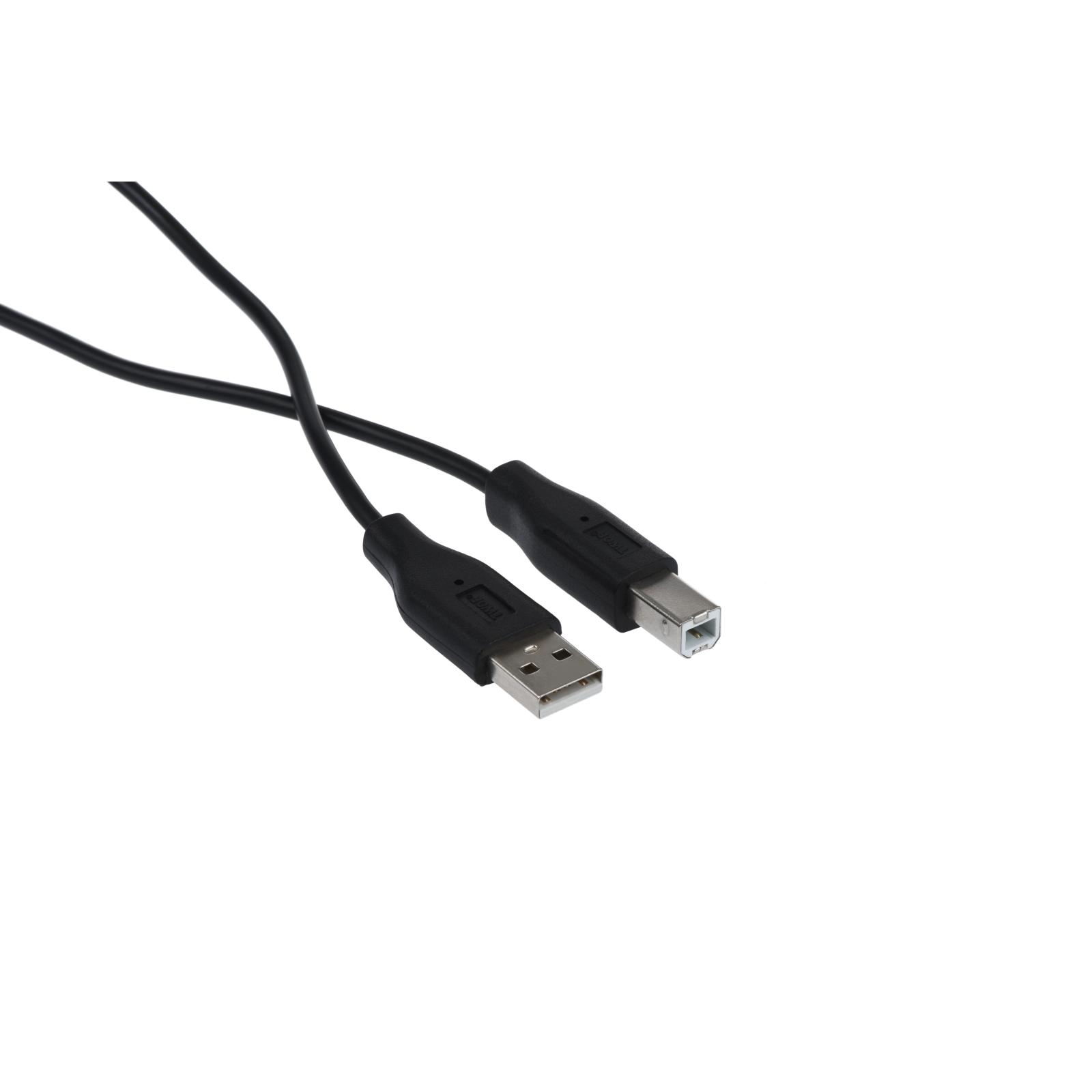 Кабель для принтера USB 2.0 AM/BM 3.0m 2E (2E-W-3169m3) изображение 2
