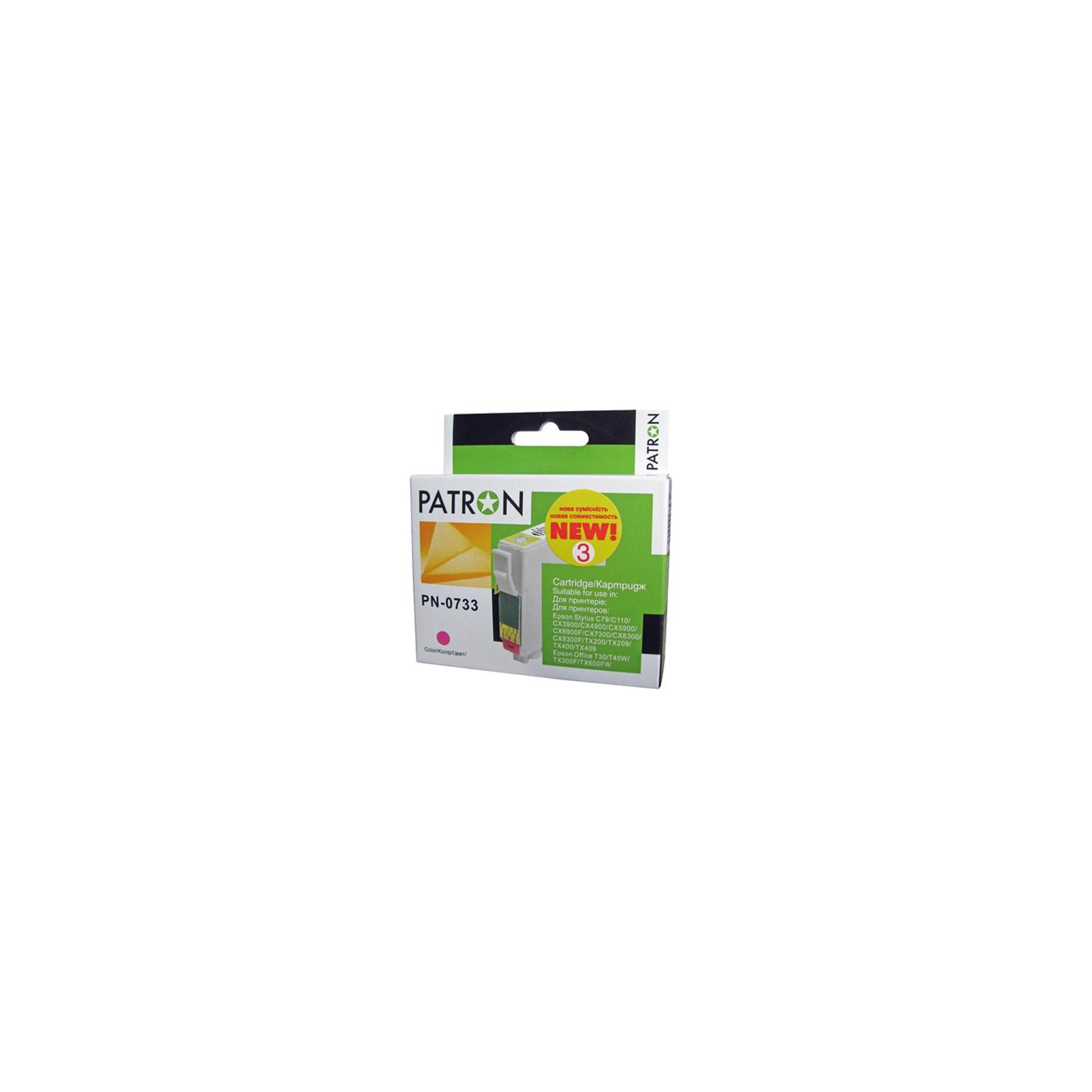 Картридж PATRON для EPSON C79/C110/TX200 magenta (CI-EPS-T07334-M3-PN) изображение 2
