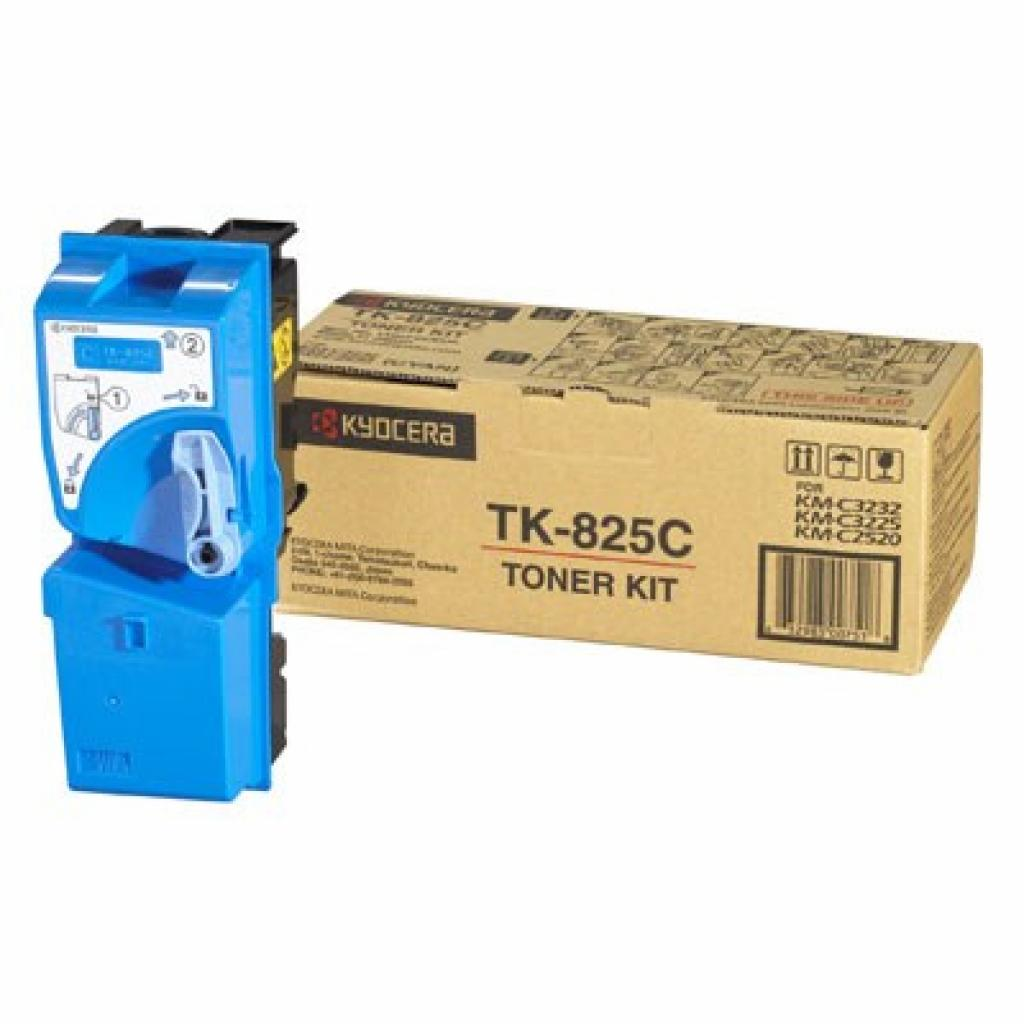 Тонер-картридж TK-825C cyan, 7.5К Kyocera (1T02FZCEU0)