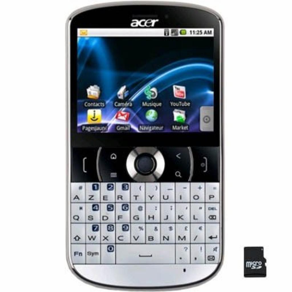 Мобильный телефон Acer beTouch E130 White (XP.H4PEN.015)