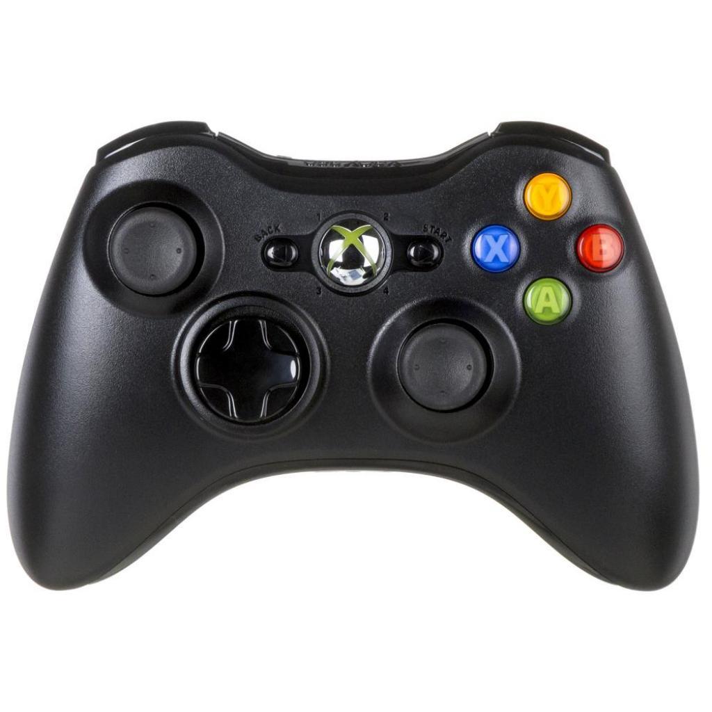 Геймпад Microsoft Wrls Xbox 360 Controller for Windows USB Black Ret (JR9-00010)