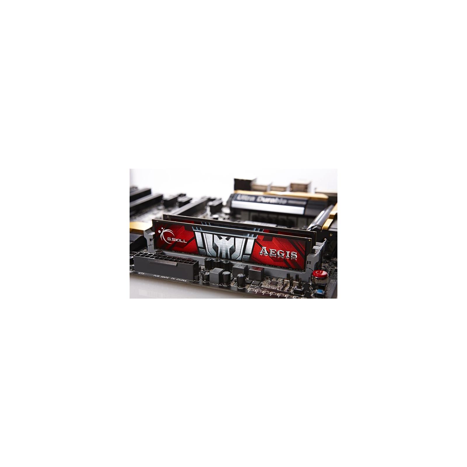 Модуль памяти для компьютера DDR3 8GB (2x4GB) 1600 MHz G.Skill (F3-1600C11D-8GIS) изображение 2