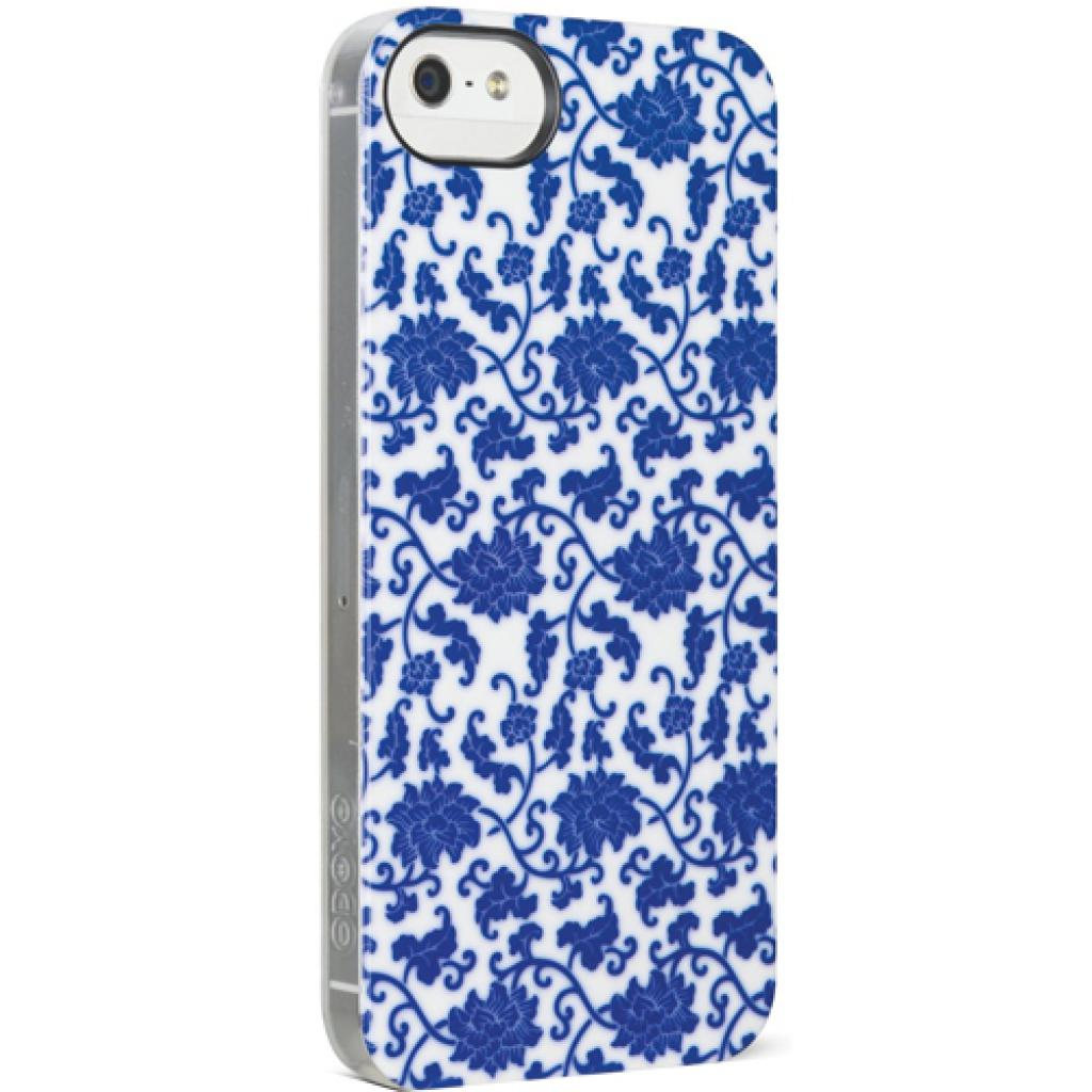 Чехол для моб. телефона ODOYO iPhone 5/5s NEW BORN BLUE AND WHITE PORCELAIN (PH3902) изображение 3