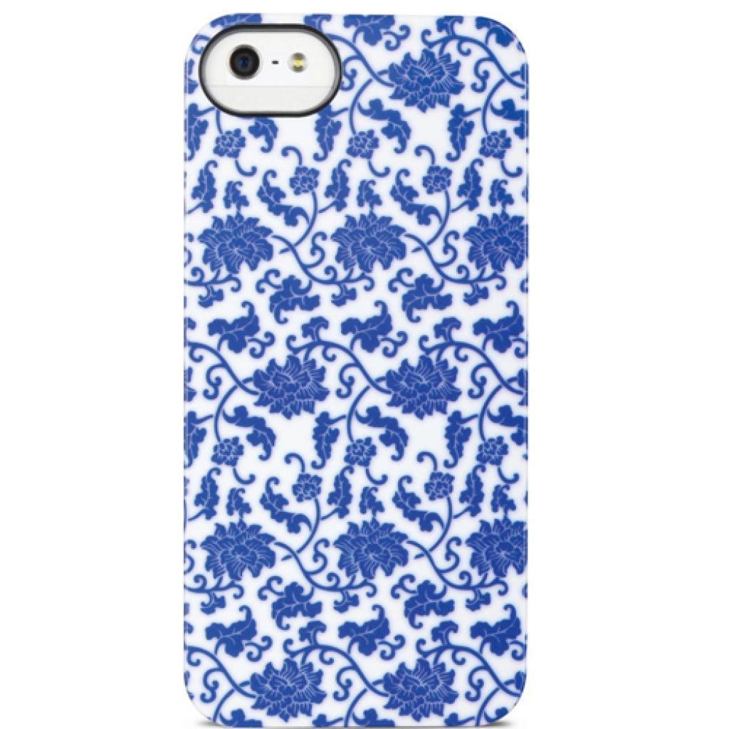 Чехол для моб. телефона ODOYO iPhone 5/5s NEW BORN BLUE AND WHITE PORCELAIN (PH3902)