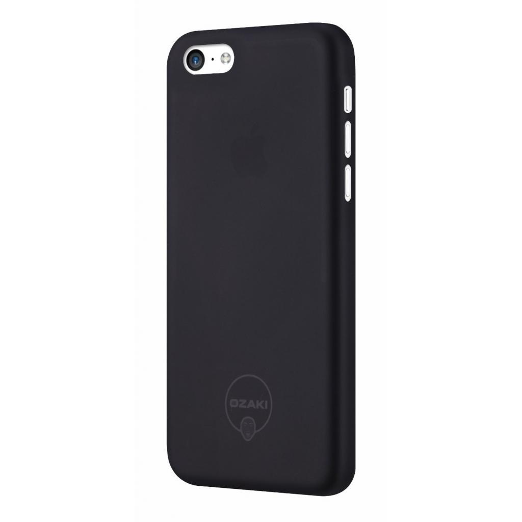Чехол для моб. телефона OZAKI iPhone 5С O!coat 0.3 Jelly ultra slim Black (OC546BK) изображение 2