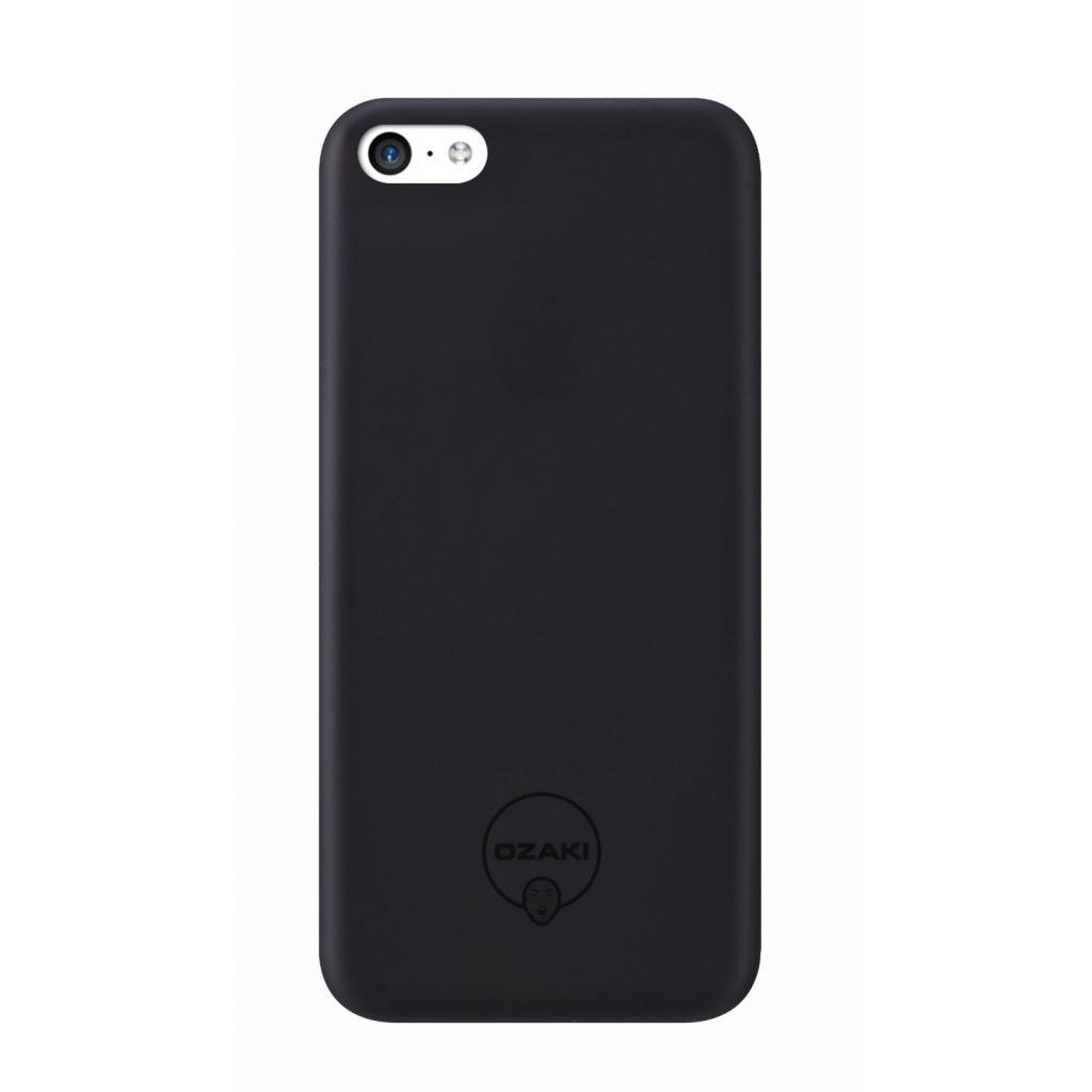 Чехол для моб. телефона OZAKI iPhone 5С O!coat 0.3 Jelly ultra slim Black (OC546BK)