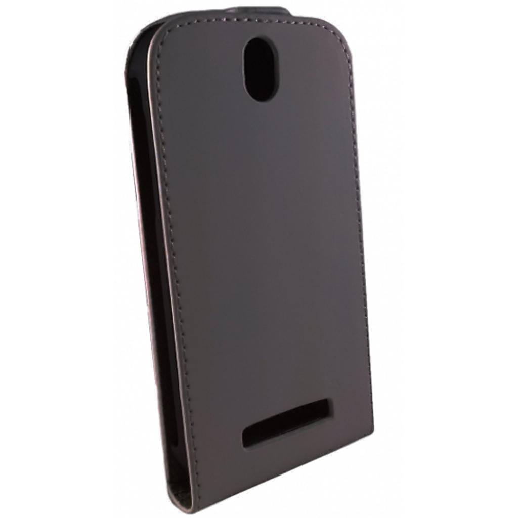 Чехол для моб. телефона GLOBAL для HTC Desire 601 /Black/Flip (1283126454691)