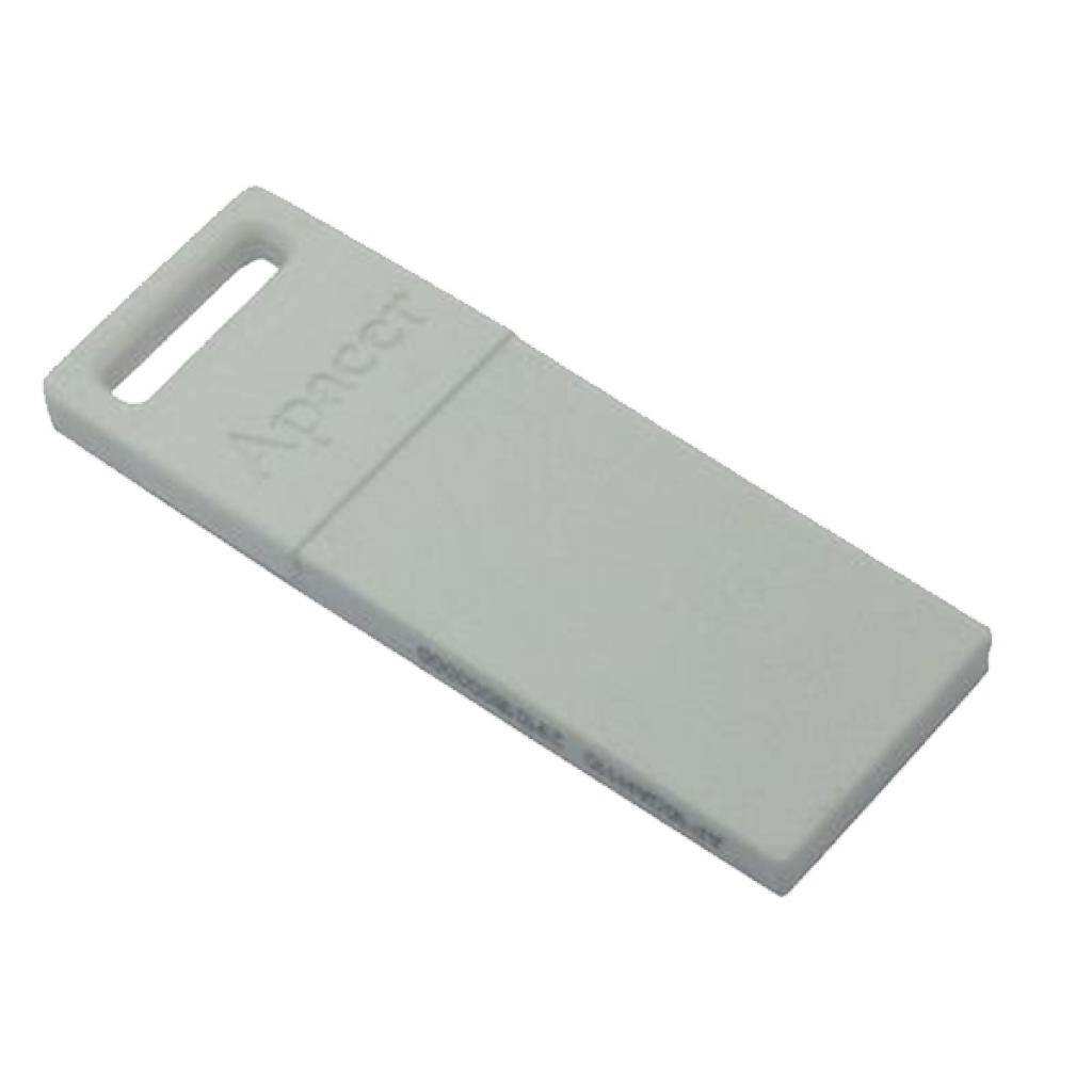 USB флеш накопитель 8GB AH110 White RP USB2.0 Apacer (AP8GAH110W-1) изображение 3