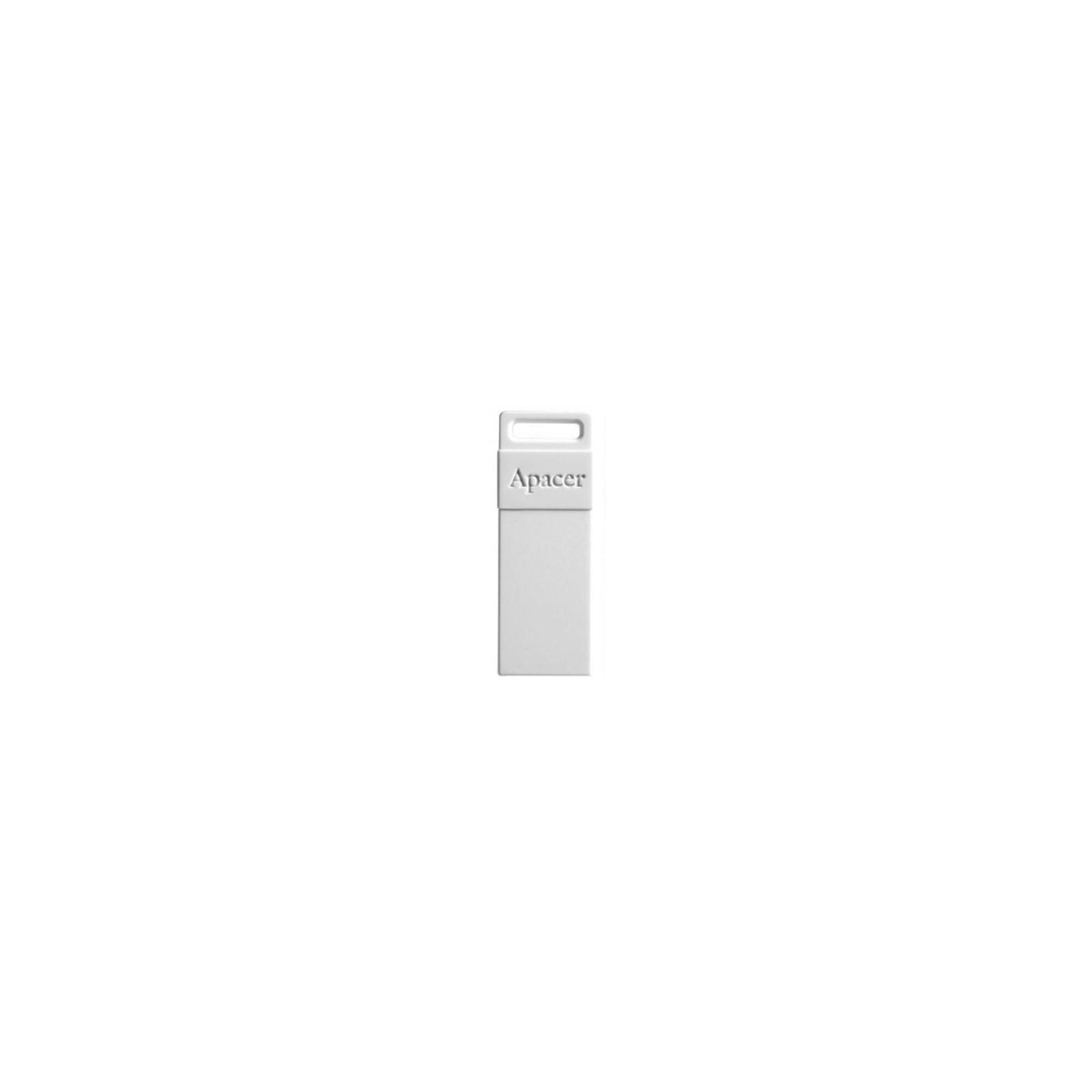 USB флеш накопитель 8GB AH110 White RP USB2.0 Apacer (AP8GAH110W-1)