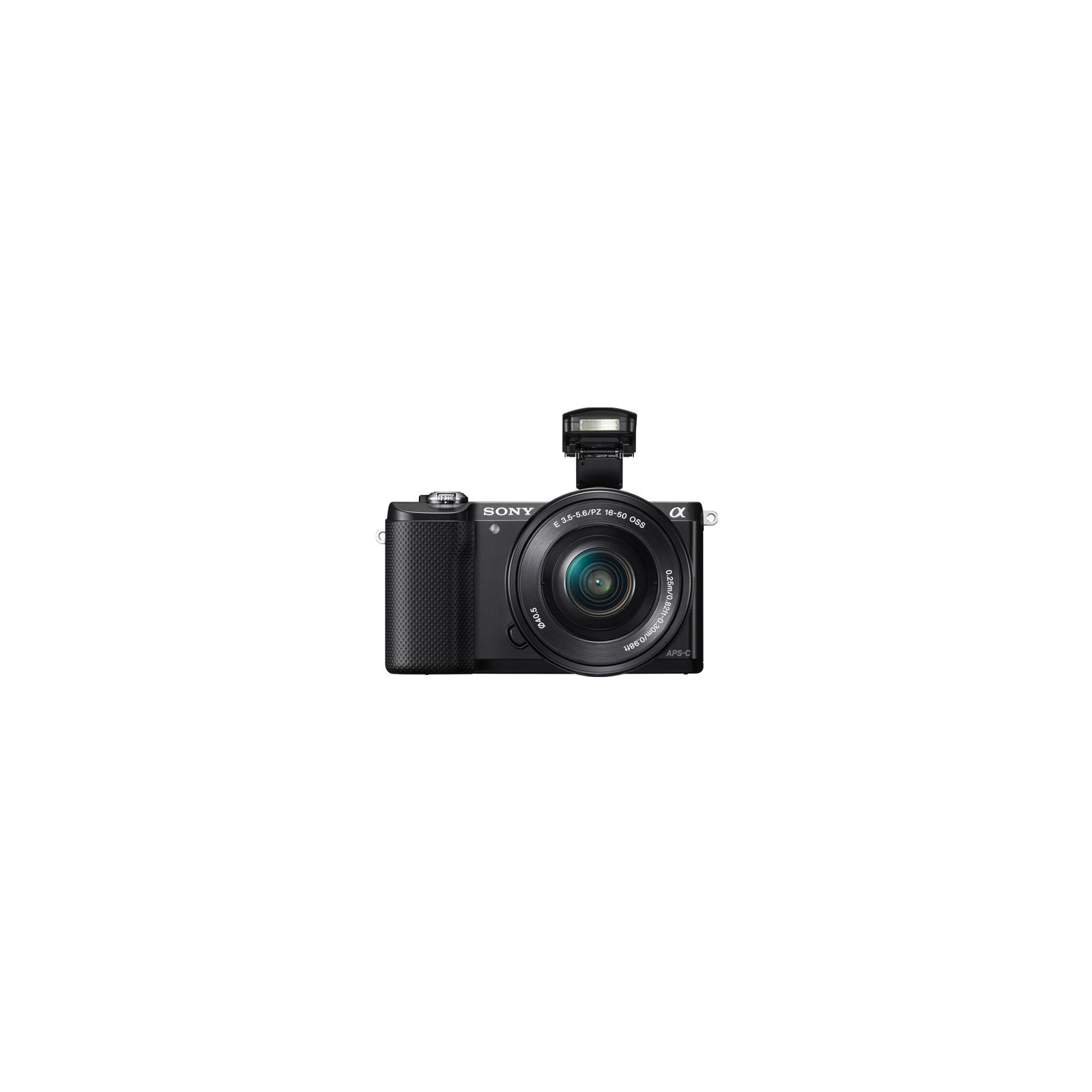 Цифровой фотоаппарат SONY Alpha 5000 kit 16-50 Black (ILCE5000LB.CEC) изображение 2