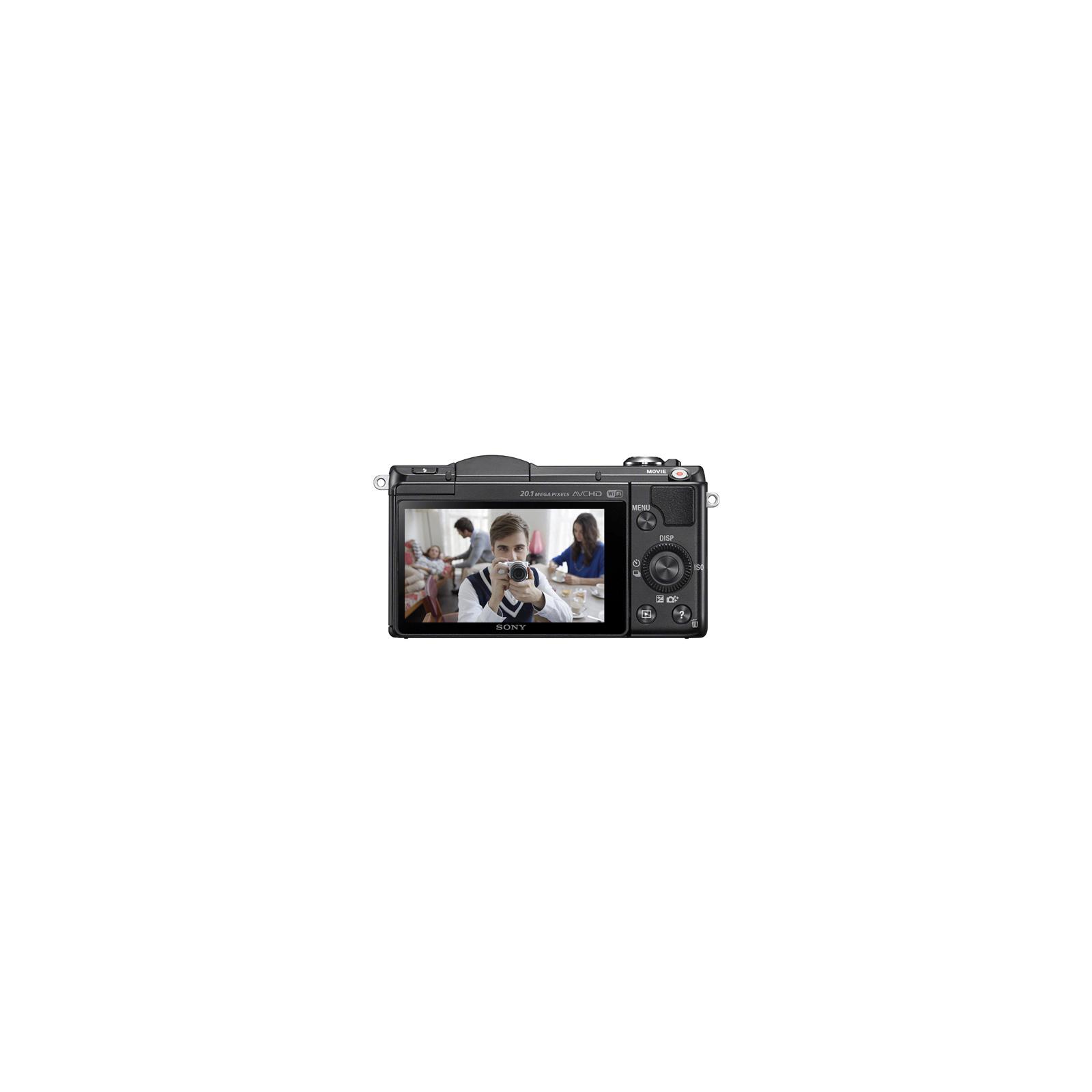 Цифровой фотоаппарат SONY Alpha 5000 kit 16-50 Black (ILCE5000LB.CEC) изображение 3