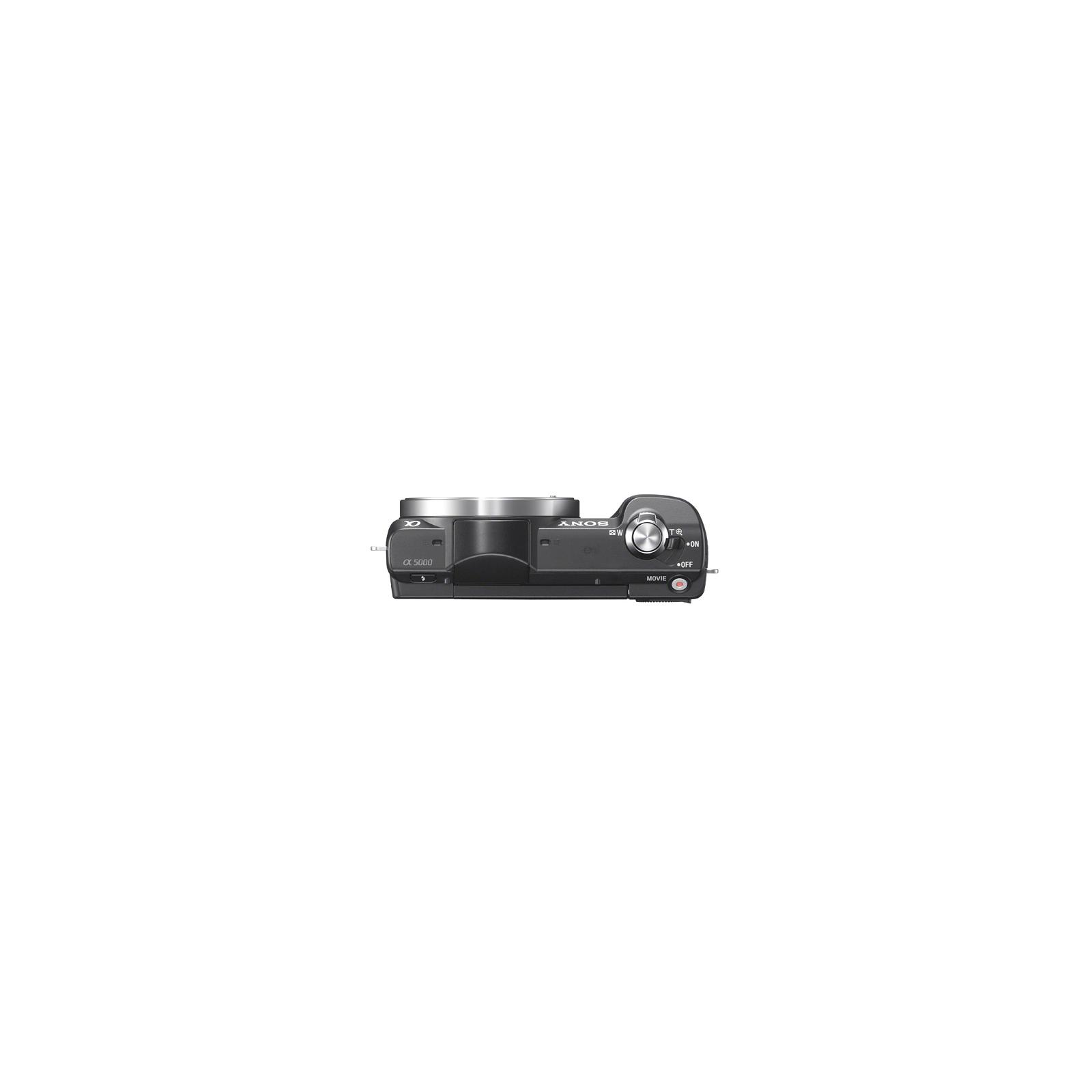 Цифровой фотоаппарат SONY Alpha 5000 kit 16-50 Black (ILCE5000LB.CEC) изображение 4