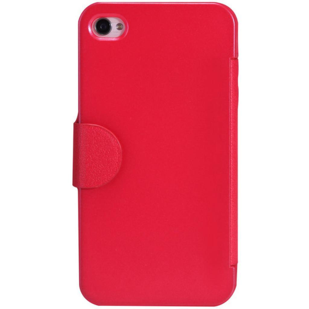 Чехол для моб. телефона NILLKIN для iPhone 4S /Fresh/ Leather/Red (6065677) изображение 2