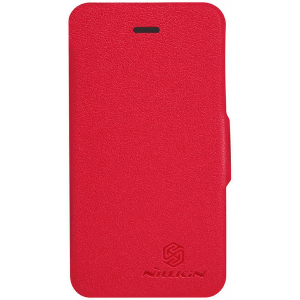 Чехол для моб. телефона NILLKIN для iPhone 4S /Fresh/ Leather/Red (6065677)