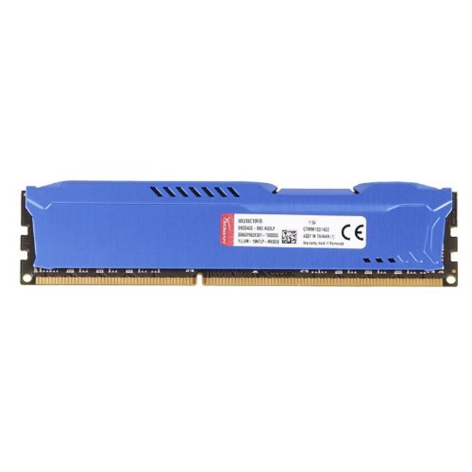 Модуль памяти для компьютера DDR3 8Gb 1600 MHz HyperX Fury Blu Kingston (HX316C10F/8) изображение 3