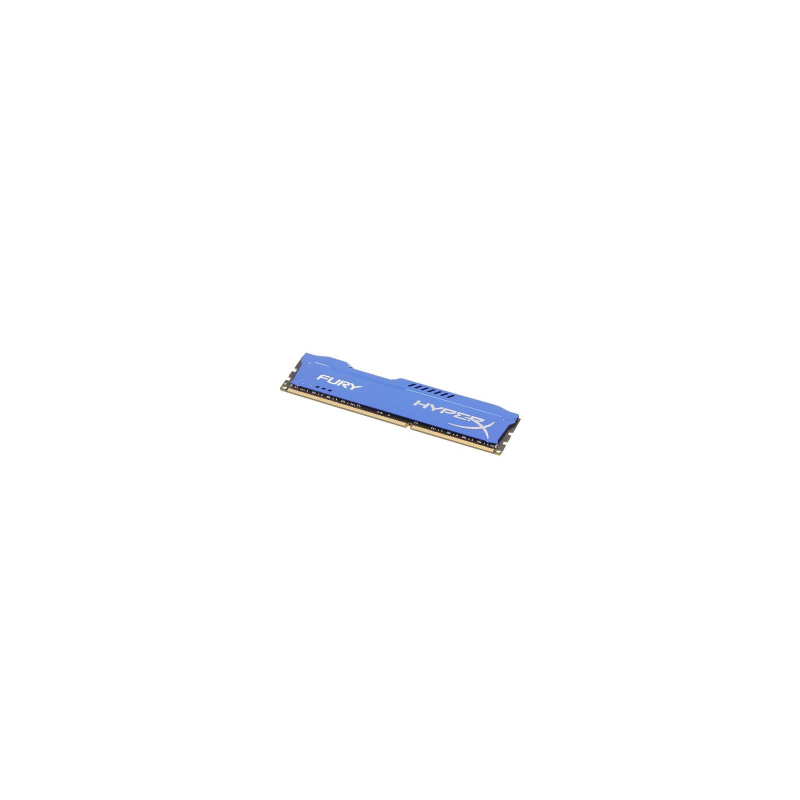 Модуль памяти для компьютера DDR3 8Gb 1600 MHz HyperX Fury Blu Kingston (HX316C10F/8) изображение 4