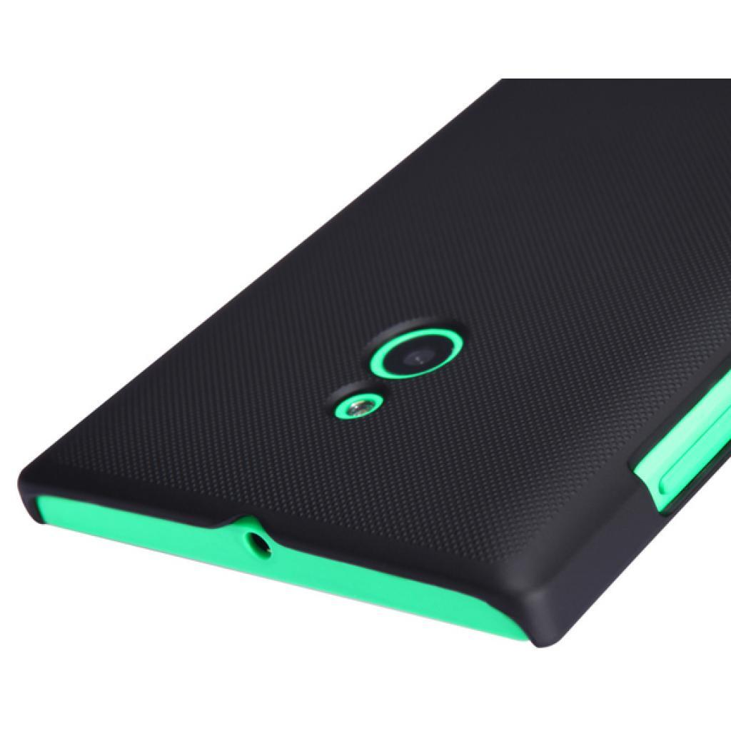 Чехол для моб. телефона NILLKIN для Nokia XL /Super Frosted Shield/Black (6164341) изображение 2