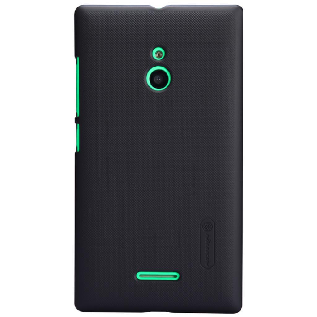 Чехол для моб. телефона NILLKIN для Nokia XL /Super Frosted Shield/Black (6164341)
