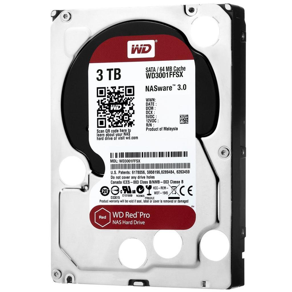 """Жесткий диск 3.5"""" 3TB Western Digital (WD3001FFSX)"""